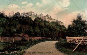 St. John, New Brunswick, Canada  - The rear view of Reids Castle - 1940s