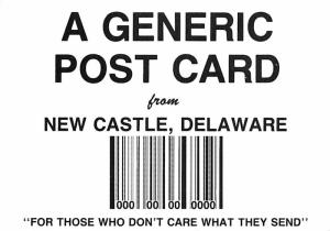 Generic Post Card - New Castle, Delaware