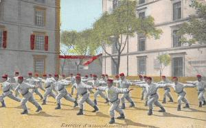 French Infanterie (Infantry) Exercices Asouplissement (Warm-Up Excercises) c1910