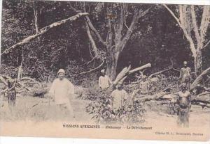 Dahomey Missions Africaines Le Defrichment