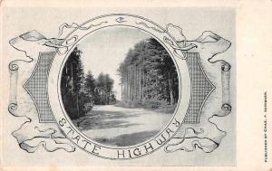Ayer Massachusetts State Highway Scenic View Vintage Postcard JA4741752