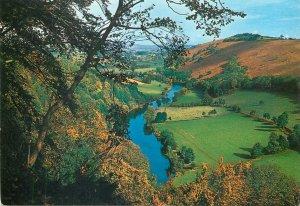 England Postcard River Wye Yat Rock Symonds Yat wild nature landscape view