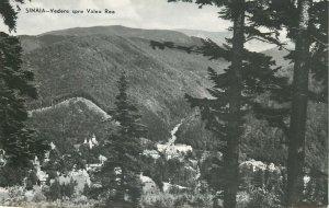 Romania Sinaia vedere spre valea rea peisaj montan Postcard