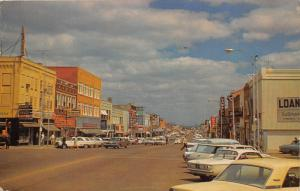 Lawton Oklahoma~Street Scene~Gilbert Drugs~Anthony Co~Rexall~60s Cars~1966 PC