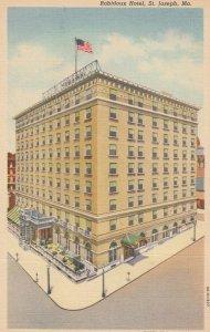 ST JOSEPH, Robidoux Hotel, Missouri, 30-40s