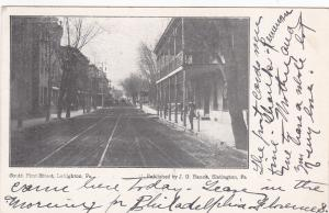 LEHIGHTON , Pennsylvania, PU-1908 ; South First Street