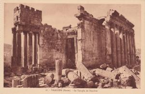 BAALBEK (Syrie), Lebanon, 1900-1910's; Le Temple De Bacchus