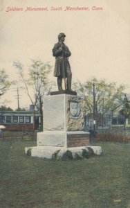 SOUTH MANCHESTER , Connecticut, 1900-10s; Soldiers Monument
