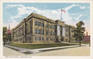 Wisconsin Superior New High School Curteich