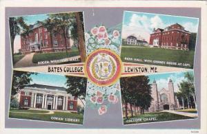Maine Lewiston Bates College Multiple