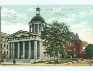 Divided-Back COURT HOUSE Auburn New York NY n4976
