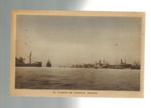 Mint El Puerto de Tampico Mexico Postcard Real Picture RPPC
