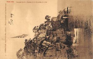 Put In Bay Ohio Gibraltar Perrys Lookout Antique Postcard K96868
