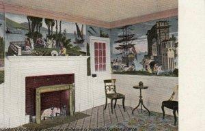 HILLSBORO, New Hampshire, 1900-10s; Interior of Birthplace, Ex-President Fran...