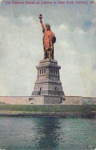 Statue of Liberty Post Card New York City, USA Unused