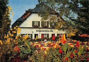Insel Mainau im Bodensee Schwedenschenke Terrace Postcard