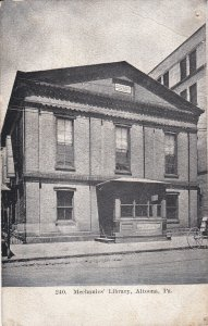 ALTOONA , Pennsylvania , 1900-10s ; Mechanics' Library