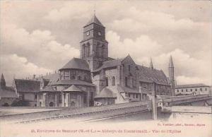 France Saumur Abbaye de Fontevrault Vue de l'Eglise