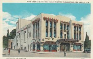 ALBUQUERQUE , New Mexico , 1910s ; KIMO Indian Theatre