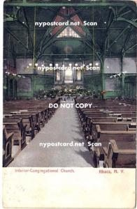 Interior Cong Church, Ithaca NY