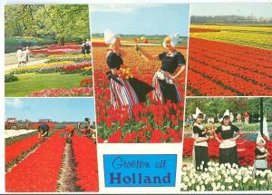 Groeten uit Holland, Greetings from Holland, 1973 used