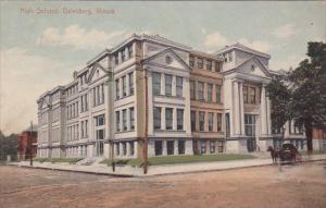 High School Galesburg Illinois 1910