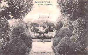 Buenos Aires Argentina Jardin Botanico Buenos Aires Jardin Botanico