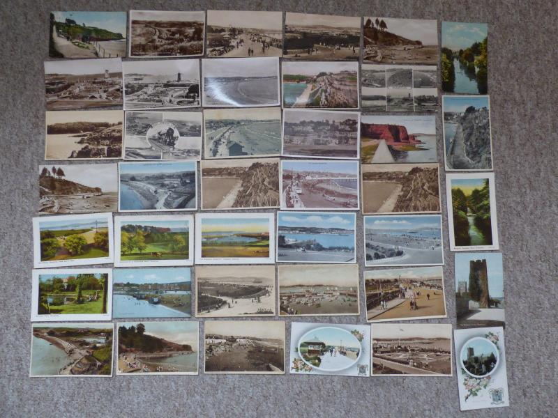 bu0126 - Paignton , Devon - 39 postcards - All Showing