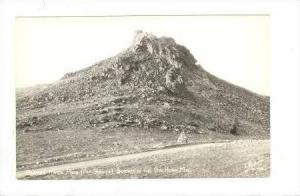 RP  Powder River Pass, Big Horn Mts, 30-40s SANBORN photo postcard #V-789