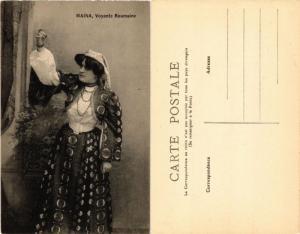 CPA AK MAINA Voyante Roumaine ROMANIA (504582)