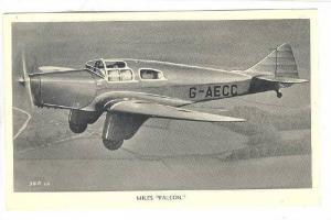 Miles Falcon airplane, 30-40s