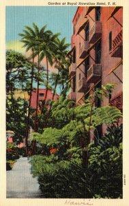Hawaii Honolulu Royal Hawaiian Hotel Garden Curteich