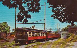 Strasburg Railroad Observation Car Conestoga Creek Route 741 Pennsylvania