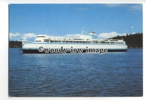 FE1295 - Canadian Ferry - Queen of Burnaby , built 1965 - postcard