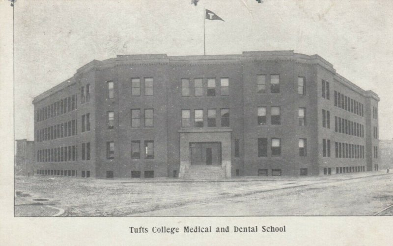 TUFTS College , Massachusetts, 1908 ; Medical & Dental School
