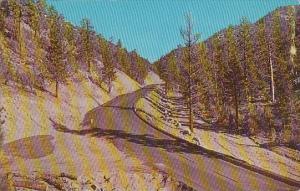 California Santa Ana Big Bear Road Via Mill Creek And Santa Ana River