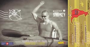 2000 Summer Olympic Games, Sydney , Australia ; Canada Team Member Karen Furn...