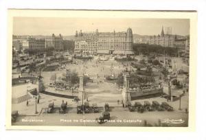 Placa de Cataluya, Plaza de Cataluna, Barcelona, Spain, 10-30
