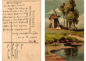 CPA O Sonnenschein Meissner & Buch Litho Serie 1308 (730688)