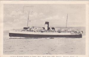 Steamer, C.P.S.S. Princess Helene On Digby, Nova Scotia, SAINT JOHN, New Brun...