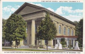 Exterior,  First Baptist Church,  Columbia,  South Carolina,  00-10s