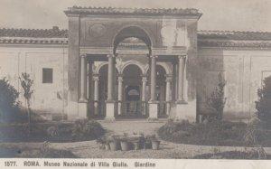 RP, ROMA. , Italy , 00-10s ; Museo Nazionale di Villa Giulia. Gardino