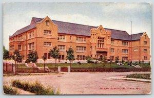 St Louis MO~Wyman School~Now Collegiate School of Medicine and Bioscience~1910