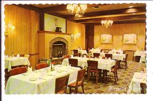 Fireside Room, Food;Rite Restaurant, Woodstock, Ontario, Interior