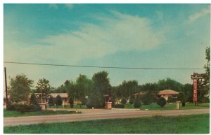 Postcard - New Hollywood Motel U.S. Hwy. 31-E North of Louisville, Kentucky