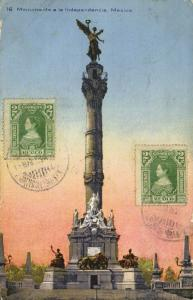 mexico, MEXICO, Monumento a la Independencia (1923) Postcard