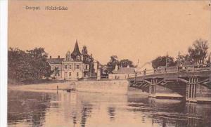 Estonia Dorpat Holzbruecke