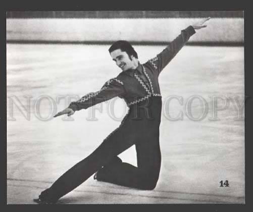 108510 Russian skate champion Vladimir Kovalev Old photo