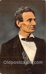Abraham Lincoln, Born Feb 12, 1809 Hardin County, KY, USA Unused