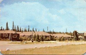 Michigan Houghton Lake Motor Court At Johnson's Rustic Resort
